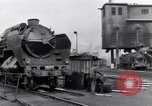 Image of rail yard Paris France, 1954, second 5 stock footage video 65675028936