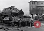 Image of rail yard Paris France, 1954, second 7 stock footage video 65675028936