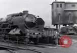 Image of rail yard Paris France, 1954, second 8 stock footage video 65675028936