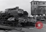 Image of rail yard Paris France, 1954, second 9 stock footage video 65675028936