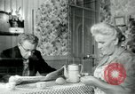 Image of union workers' notice Isbergues France, 1952, second 2 stock footage video 65675028945