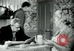 Image of union workers' notice Isbergues France, 1952, second 4 stock footage video 65675028945