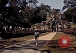 Image of Temple ruins Siem Reap Cambodia, 1939, second 6 stock footage video 65675028959