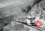 Image of Canadian Railroad train British Columbia Canada, 1957, second 3 stock footage video 65675028968