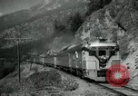 Image of Canadian Railroad train British Columbia Canada, 1957, second 4 stock footage video 65675028968