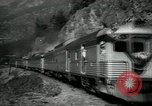Image of Canadian Railroad train British Columbia Canada, 1957, second 5 stock footage video 65675028968