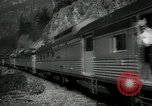 Image of Canadian Railroad train British Columbia Canada, 1957, second 6 stock footage video 65675028968