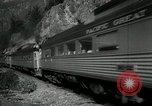 Image of Canadian Railroad train British Columbia Canada, 1957, second 7 stock footage video 65675028968