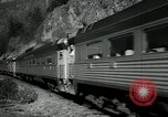 Image of Canadian Railroad train British Columbia Canada, 1957, second 8 stock footage video 65675028968