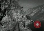 Image of Canadian Railroad train British Columbia Canada, 1957, second 9 stock footage video 65675028968