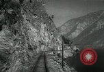 Image of Canadian Railroad train British Columbia Canada, 1957, second 10 stock footage video 65675028968