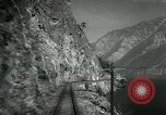 Image of Canadian Railroad train British Columbia Canada, 1957, second 11 stock footage video 65675028968