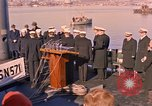 Image of Vice Admiral Rickover Groton Connecticut USA, 1961, second 9 stock footage video 65675028972
