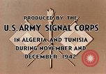 Image of French Foreign Legion Troops Sidibel Algeria North Africa, 1943, second 12 stock footage video 65675028993