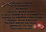 Image of United States troops Algiers Algeria, 1943, second 2 stock footage video 65675028994