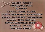 Image of United States troops Algiers Algeria, 1943, second 3 stock footage video 65675028994