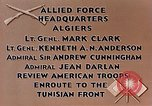 Image of United States troops Algiers Algeria, 1943, second 7 stock footage video 65675028994
