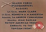 Image of United States troops Algiers Algeria, 1943, second 10 stock footage video 65675028994