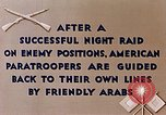 Image of US Parachute troops Tebourba Tunisia, 1943, second 12 stock footage video 65675028997