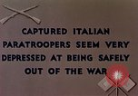 Image of Italian parachute troops North Africa, 1943, second 2 stock footage video 65675029003