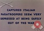 Image of Italian parachute troops North Africa, 1943, second 3 stock footage video 65675029003