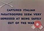 Image of Italian parachute troops North Africa, 1943, second 5 stock footage video 65675029003