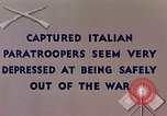 Image of Italian parachute troops North Africa, 1943, second 6 stock footage video 65675029003