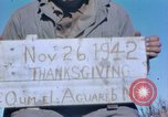 Image of Thanksgiving Day Algeria, 1943, second 4 stock footage video 65675029004
