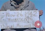 Image of Thanksgiving Day Algeria, 1943, second 5 stock footage video 65675029004