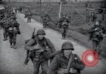Image of US 9th Army infantrymen Linnich Germany, 1944, second 6 stock footage video 65675029022