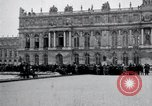 Image of Palace of Versailles Versailles France, 1919, second 2 stock footage video 65675029025