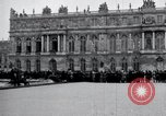 Image of Palace of Versailles Versailles France, 1919, second 4 stock footage video 65675029025