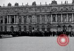 Image of Palace of Versailles Versailles France, 1919, second 9 stock footage video 65675029025