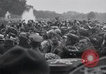 Image of dignitaries leave Versailles France, 1919, second 6 stock footage video 65675029032