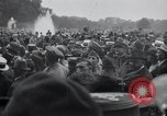 Image of dignitaries leave Versailles France, 1919, second 8 stock footage video 65675029032