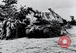 Image of destroyed town Caen France, 1944, second 9 stock footage video 65675029040