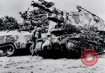 Image of destroyed town Caen France, 1944, second 10 stock footage video 65675029040