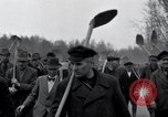 Image of common burial ground Nordhausen Germany, 1945, second 10 stock footage video 65675029043