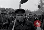 Image of common burial ground Nordhausen Germany, 1945, second 11 stock footage video 65675029043