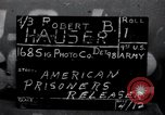 Image of released American prisoners Grasleben Germany, 1945, second 1 stock footage video 65675029044