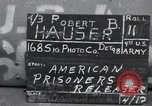Image of released American prisoners Grasleben Germany, 1945, second 1 stock footage video 65675029045