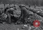 Image of exhumed corpses Arnstadt Germany, 1945, second 11 stock footage video 65675029050