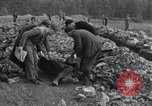 Image of exhumed corpses Arnstadt Germany, 1945, second 12 stock footage video 65675029050