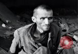 Image of emaciated prisoners Nordhausen Germany, 1945, second 11 stock footage video 65675029053