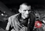 Image of emaciated prisoners Nordhausen Germany, 1945, second 12 stock footage video 65675029053