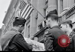 Image of news of Roosevelt's death London England United Kingdom, 1945, second 2 stock footage video 65675029055