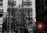 Image of Westminster Abbey London England United Kingdom, 1945, second 4 stock footage video 65675029056