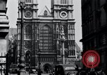 Image of Westminster Abbey London England United Kingdom, 1945, second 8 stock footage video 65675029056