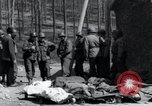 Image of dead Nazi slave laborers Nordhausen Germany, 1945, second 5 stock footage video 65675029059
