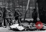 Image of dead Nazi slave laborers Nordhausen Germany, 1945, second 10 stock footage video 65675029059